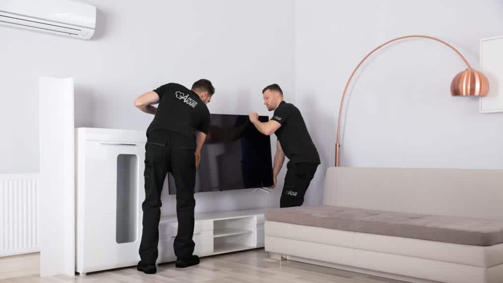 Flyttfirma Stockholm, flyttarbetare flyttar inredning