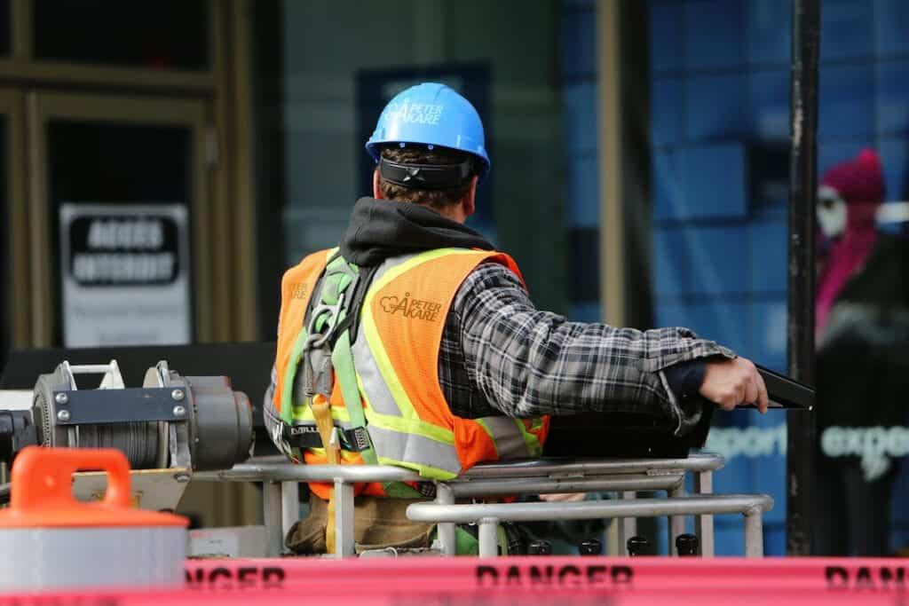 Godkänd för F-skatt, arbetare på arbetsplats