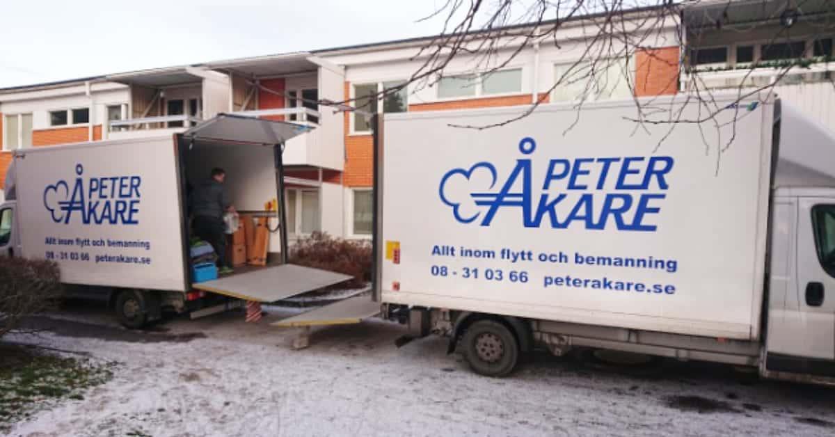 Flytt fran Vasby till Norrkoping Flyttfirma Peter Åkare