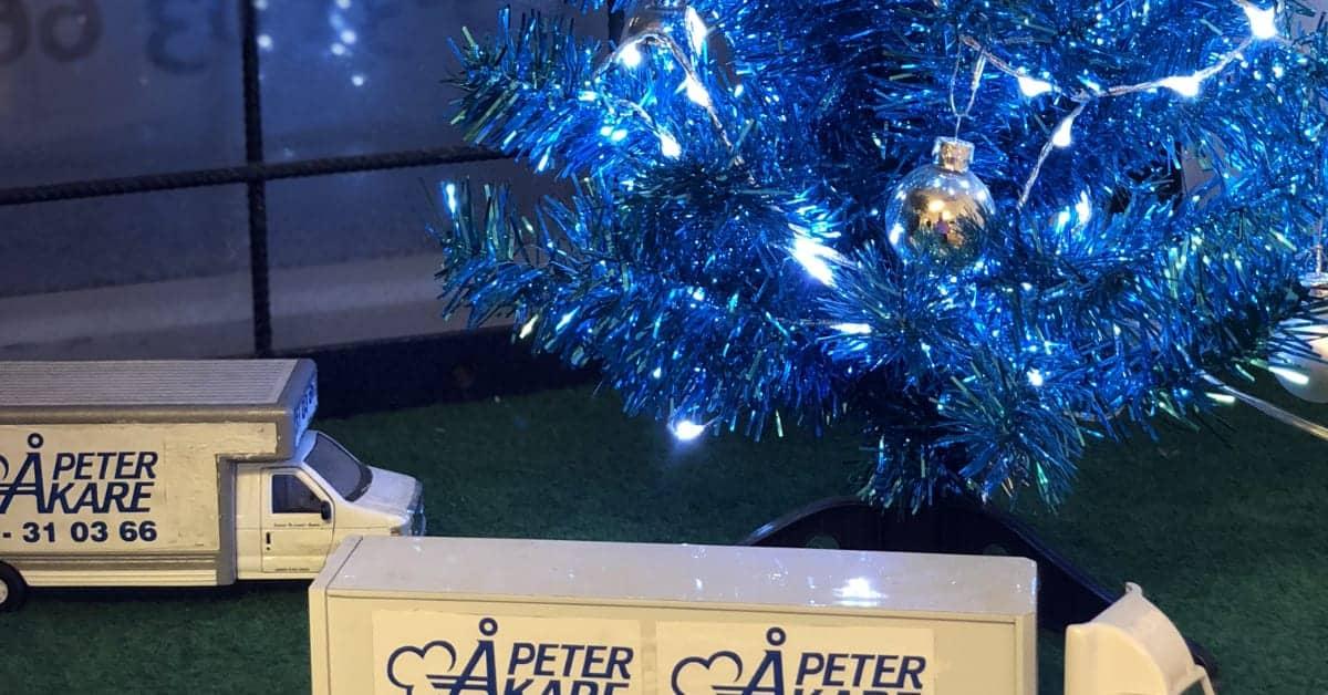 Flyttfirma Peter Åkare önskar God Jul och Gott Nytt År