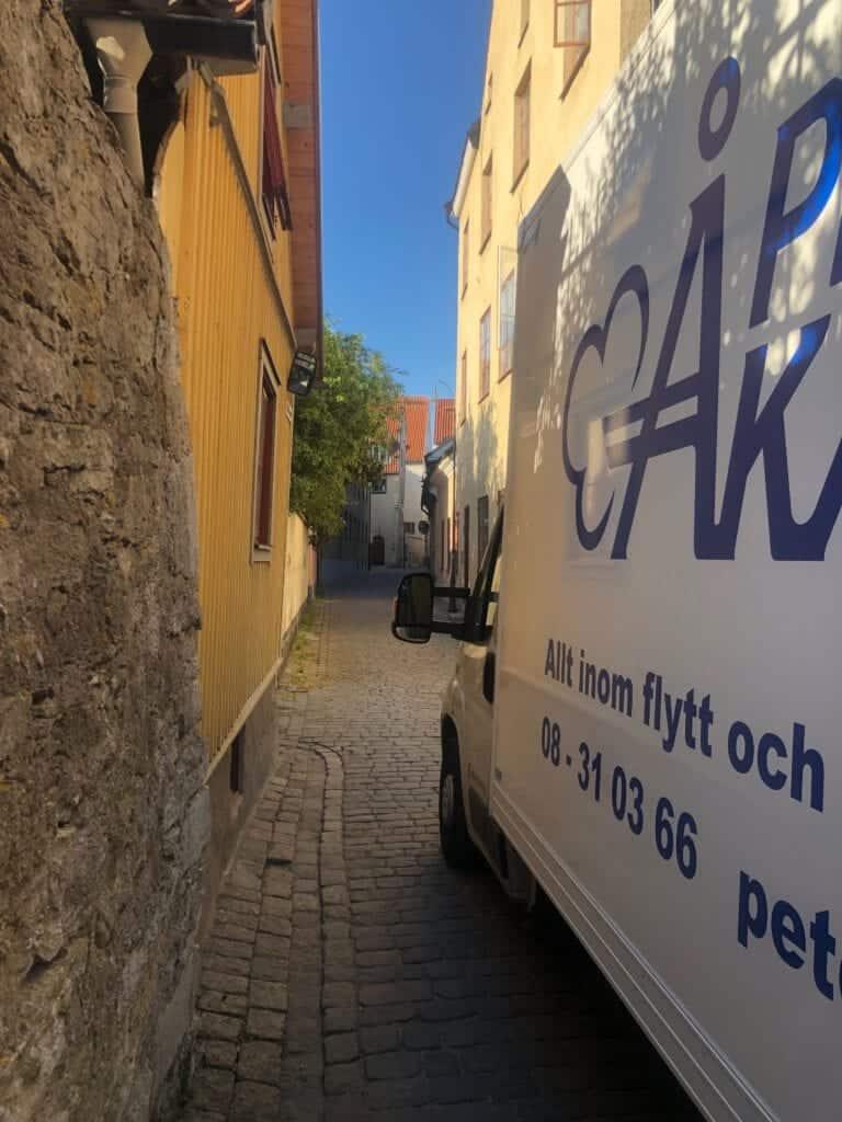 Flytt mellan Stockholm och Gotland med Flyttfirma Peter Åkare AB