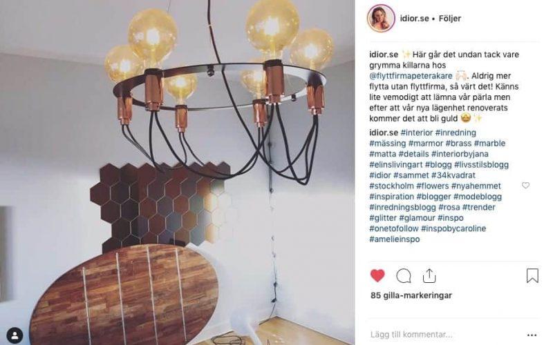 Kund flyttar till nytt boende med Flyttfirma Peter Åkare